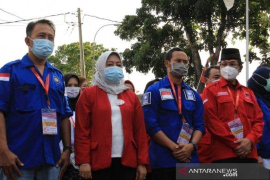 Tiga paslon Bupati-Wakil Bupati resmi daftar ke KPU Kabupaten Bandung
