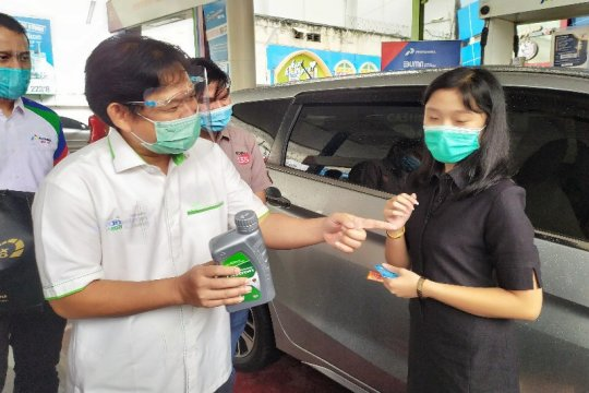 Permintaan BBM di Sumut terus naik sejak normal baru