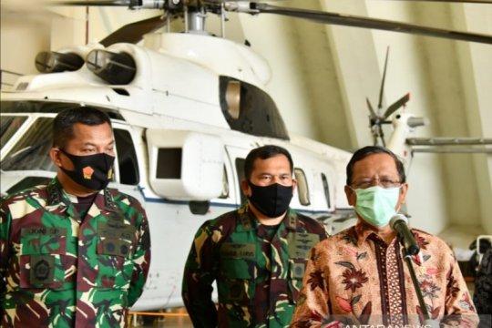"""""""Force Down"""" pesawat, Mahfud: pentingnya koordinasi"""
