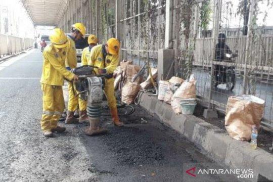 Jakarta Pusat telah perbaiki 2.495 titik jalan rusak