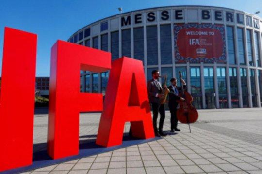 Pameran teknologi IFA Berlin digelar tanpa pengunjung
