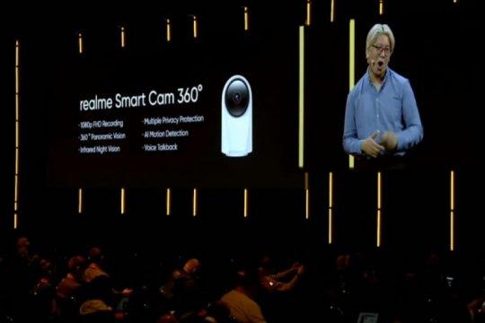 Realme perluas AIoT di IFA, perkenalkan smart cam - smart bulb