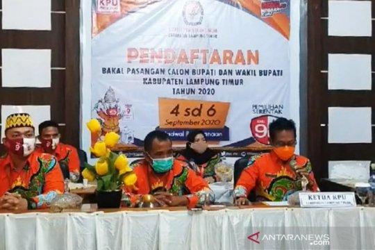 KPU Lampung Timur buka pendaftaran pasangan calon bupati-wakil bupati