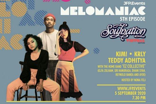 Teddy Adhitya jadi bintang tamu konser virtual Melomaniac edisi kelima