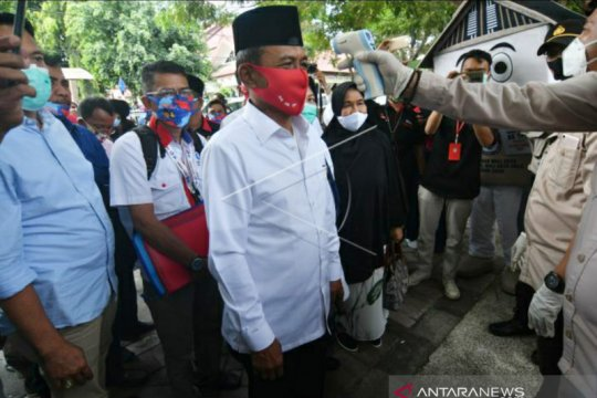 Wali Kota Palu petahana daftarkan diri maju Pilkada 2020