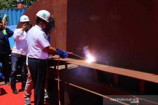 Dirjen Hubdar laksanakan peletakan lunas Ro-Ro Bombana-Tanjung Phising