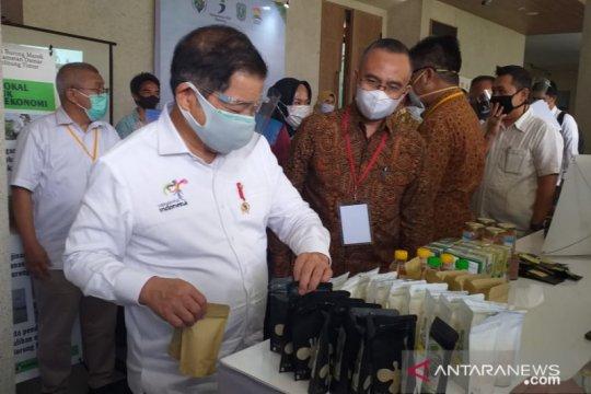 Menteri PPN dorong cinderamata Belitung tembus pasar ekspor