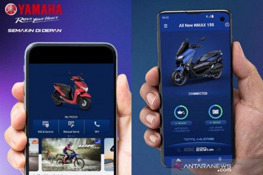 Yamaha tambah fitur aplikasi NMax Y-Connect