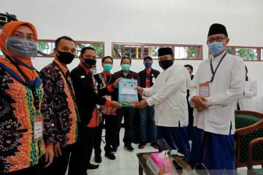 KPU Jember terima pendaftaran satu pasangan bacabup-bacawabup