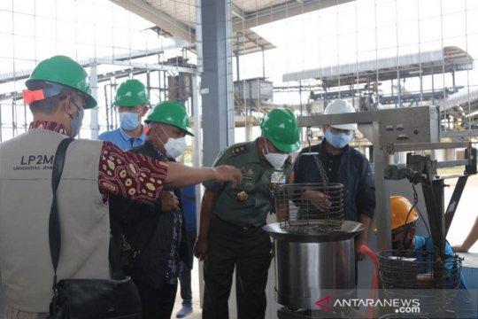 Kementerian Pertahanan studi banding di pabrik tapioka Bangka