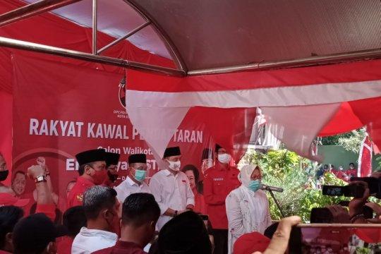 Risma minta warga Surabaya dukung Eri-Armuji di Pilkada 2020