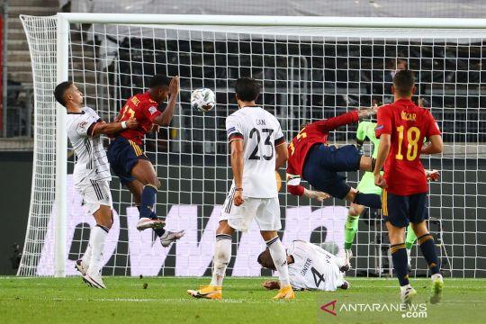 Jerman bermain imbang 1-1 lawan Spanyol