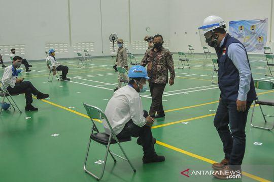 Rapid test bagi karyawan di kawasan industri Cikarang