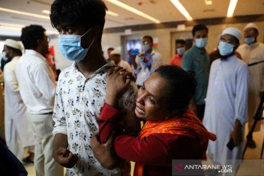 Pipa gas meledak, 13 orang tewas di Bangladesh