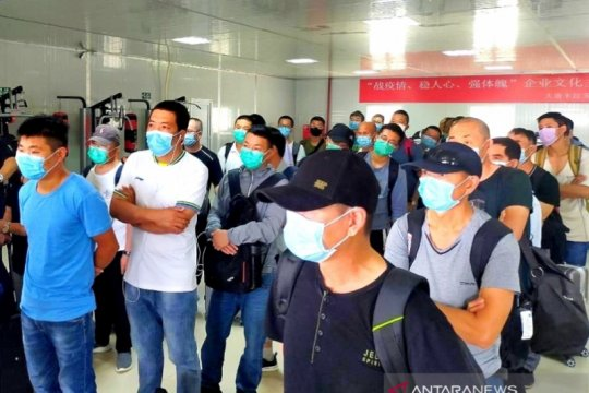 Izin kerja terbit, 37 TKA kembali lagi ke PLTU 3-4 Nagan Raya Aceh