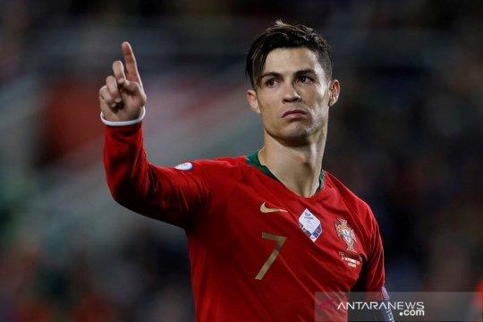 Ronaldo terancam harus tunda ambisi lewati 100 gol bersama Portugal