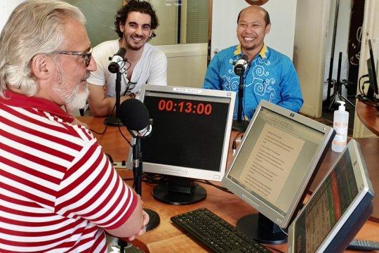 Budaya Jawa dipromosikan  Radio di Paris