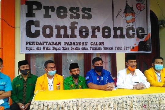 Bakal calon Bupati Solok Selatan Khairunas positif COVID-19