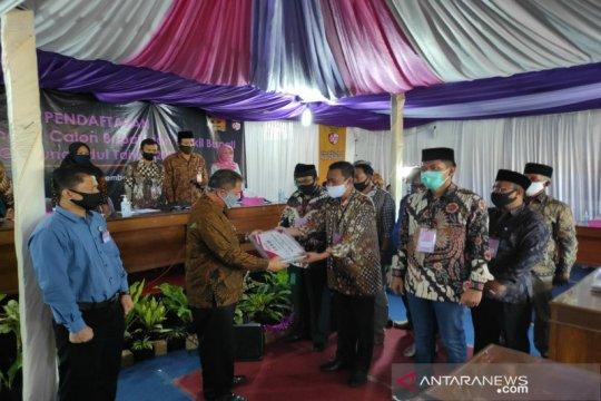Pasangan Sutrisna-Ardi mendaftar di KPU Gunung Kidul