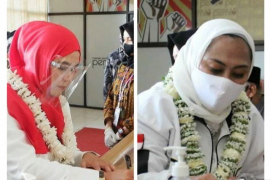 KPU Karawang terima pendaftaran dua bakal paslon Pilkada 2020