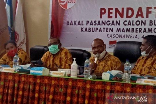 KPU Papua akui satu anggotanya terkonfirmasi terpapar COVID-19