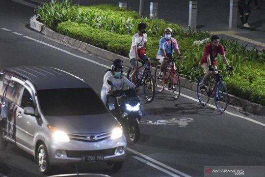 Ini empat kiat pesepeda di Ibu Kota agar tak dijambret
