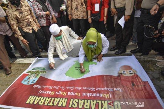 Bakal calon wali kota Mataram Selly-Manan daftar ke KPU