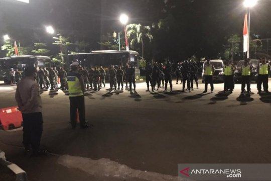 Polisi dan TNI gelar patroli berskala besar di wilayah hukum Jakarta