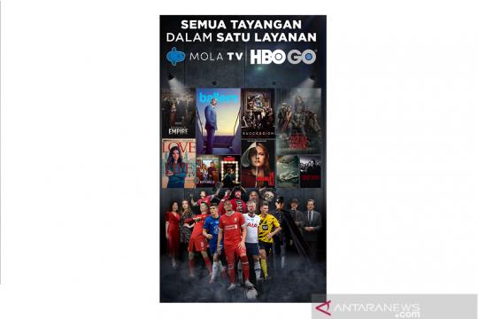 Mola TV gandeng HBO GO, hadirkan tayangan premium