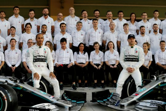 Mercedes habiskan Rp6,5 triliun untuk juarai Formula 1 musim 2019