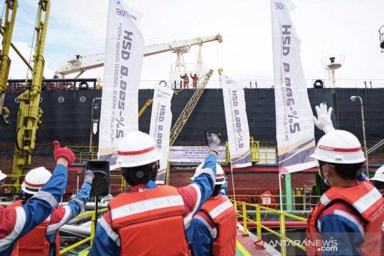 Pertamina ekspor perdana 200.000 barel Solar HSD ke  Malaysia