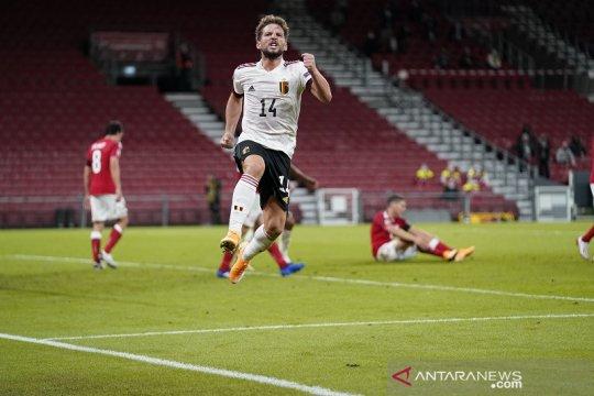 Belgia menang meyakinkan di Denmark untuk puncaki Grup A2