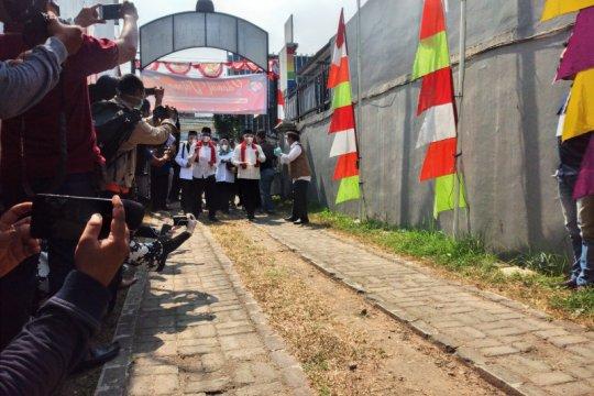 Idris-Imam resmi mendaftar sebagai peserta Pilkada 2020 ke KPU Depok
