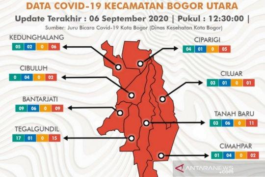 Bogor Utara, kawasan paling merah di Kota Bogor ditinjau wali kota