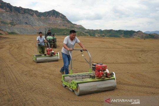China restorasi ratusan hektare lahan bekas tambang