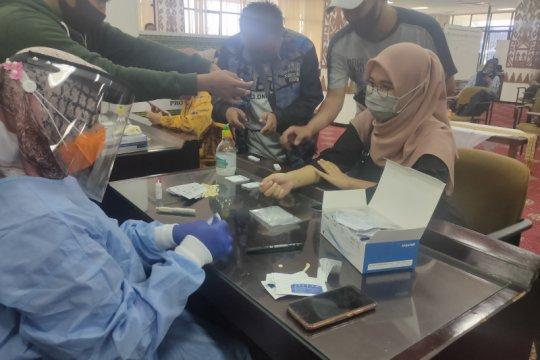 Dinkes Lampung fasilitasi 48 wartawan tes cepat