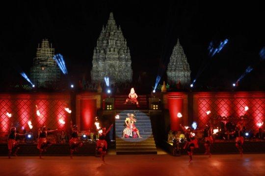 Pentas daring perdana Ramayana sukses disaksikan puluhan ribu penonton
