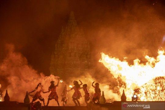 Pentas sendratari Ramayana pertama saat pandemi