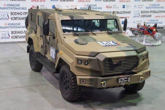 VPK-Strela, mobil taktis ringan bisa digantung di helikopter