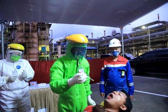 Pertamina Cilacap gelar tes usap massal bagi pekerja dan masyarakat