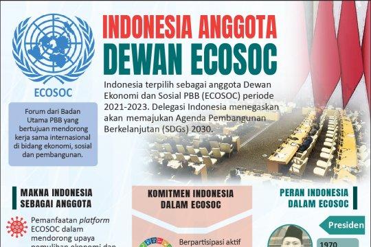 Indonesia anggota Dewan ECOSOC