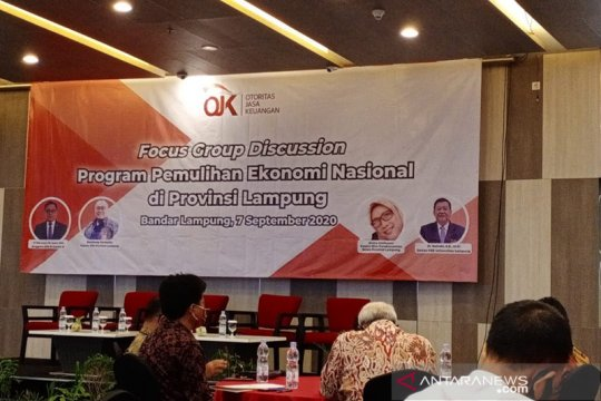 OJK nilai ekonomi Lampung segera pulih