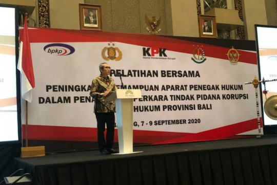 KPK latih penegak hukum di Bali tingkatkan kemampuan tangani tipikor