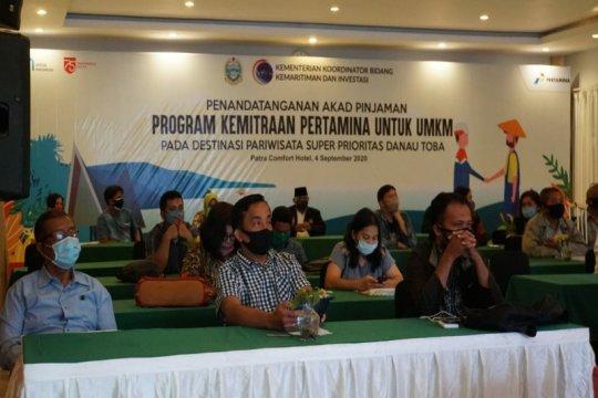 Pertamina kucurkan pinjaman Rp5,4 miliar bina UMKM di Danau Toba