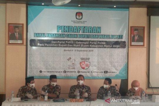 KPU sebut hanya ada dua bakal paslon peserta Pilkada Bantul