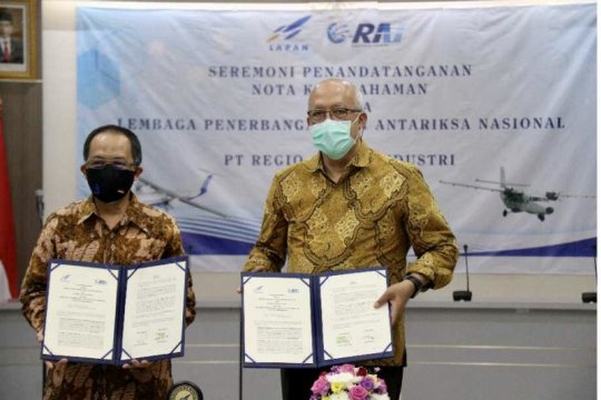 LAPAN dan PT RAI sepakati riset dan kaji terap teknologi penerbangan