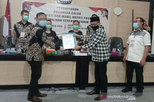 KPU Kabupaten Poso tolak berkas pasangan Ari-Vivin