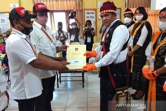 Lima bakal paslon daftar Pilkada di Kabupaten Ngada