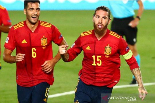 UEFA Nations League: Spanyol kalahkan Ukraina 4-0