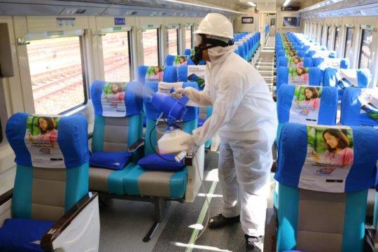 KAI bantah kereta api jadi lokasi paling rentan penularan COVID-19